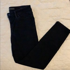 Black Joe's jeans cropped at ankle